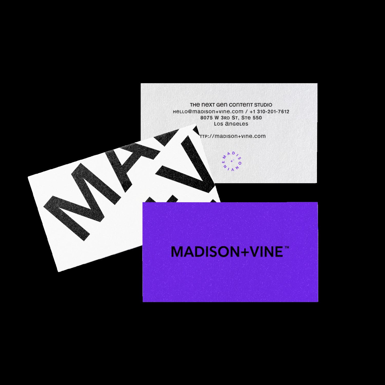 Madison + Vine